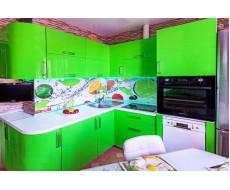 Кухня Арт пластик 006