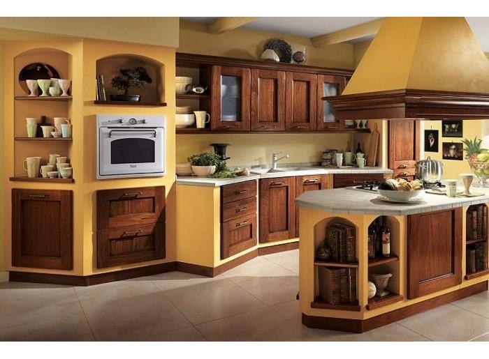 Кухня Арт из массива 016