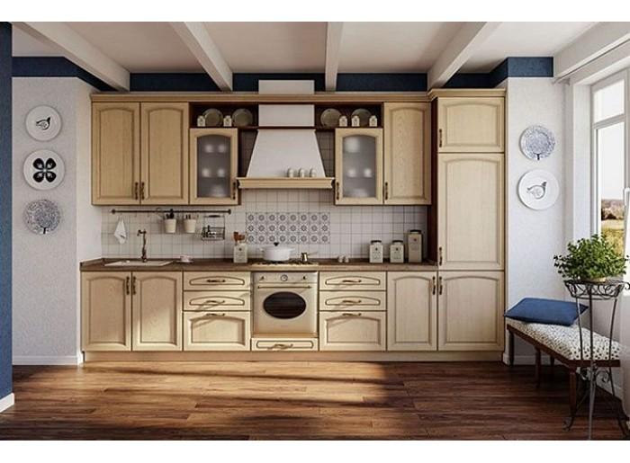 Кухня Арт из массива 006