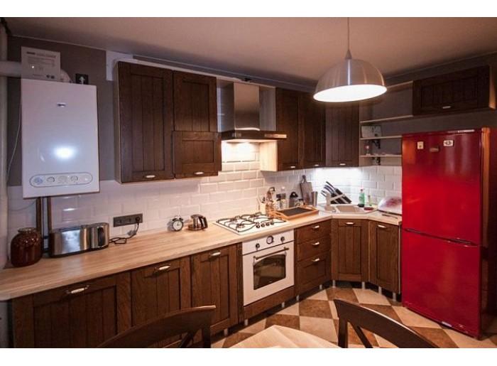 Кухня Арт из массива 015