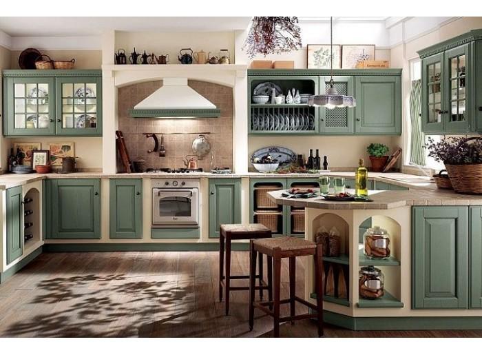 Кухня Арт из массива 007