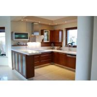 Кухня Арт из шпона 011