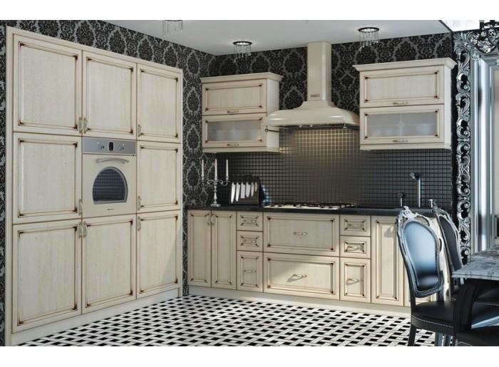 Кухня Арт из шпона 019